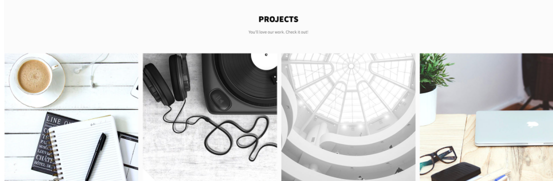 Projects on Web by Illdy from UIGarage