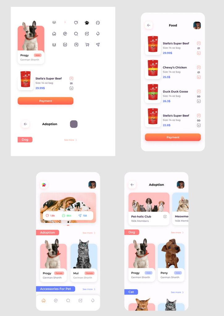Pet Adoption UI App from UIGarage