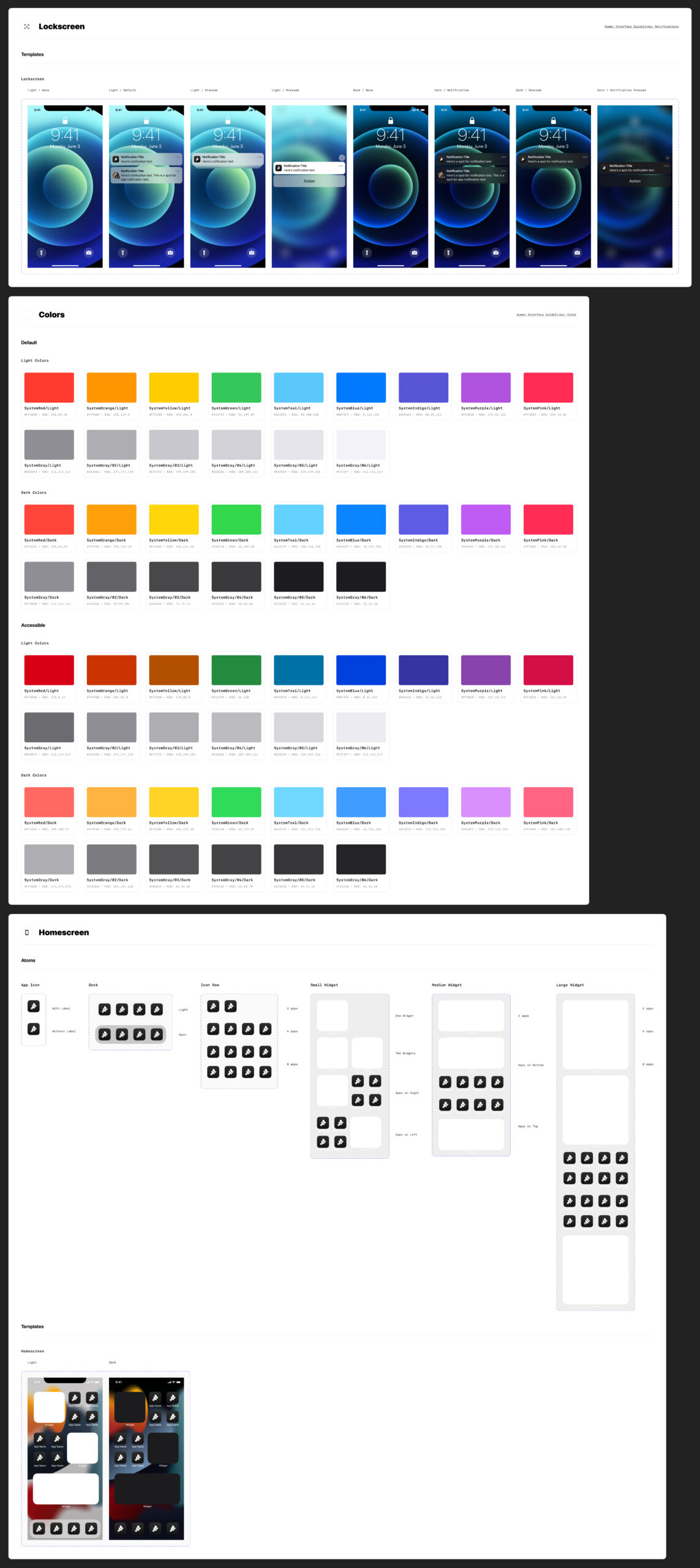 iOS 15 Free UI Kit for Figma from UIGarage