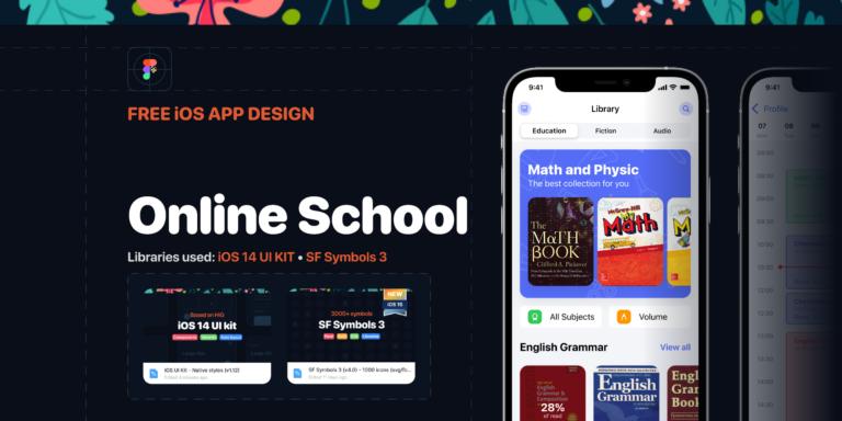 Online School - iOS app Design from UIGarage