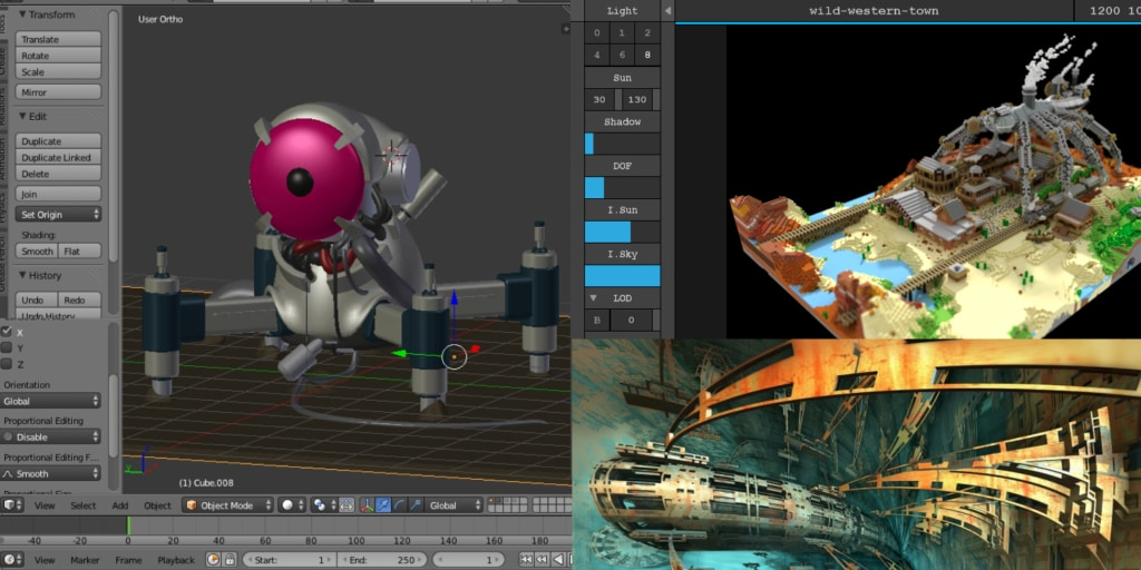10 free software for your 3D projects - UI Garage